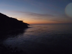 Sunrise at Esalen