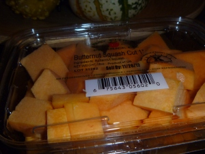 Butternut Squash from Whole Foods